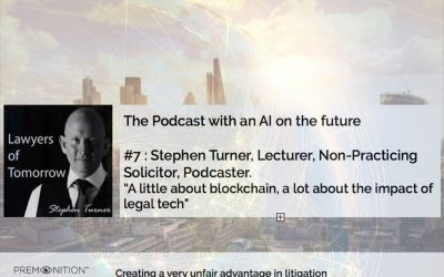 Stephen Turner, Lawyers of Tomorrow