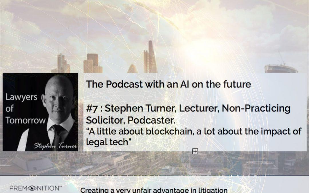 Stephen Turner, Lawyers of Tomorrow